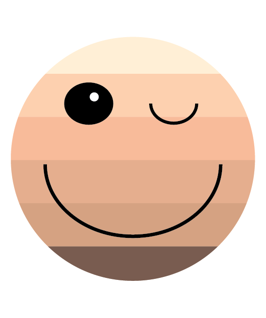 Wink and a Smile Sticker